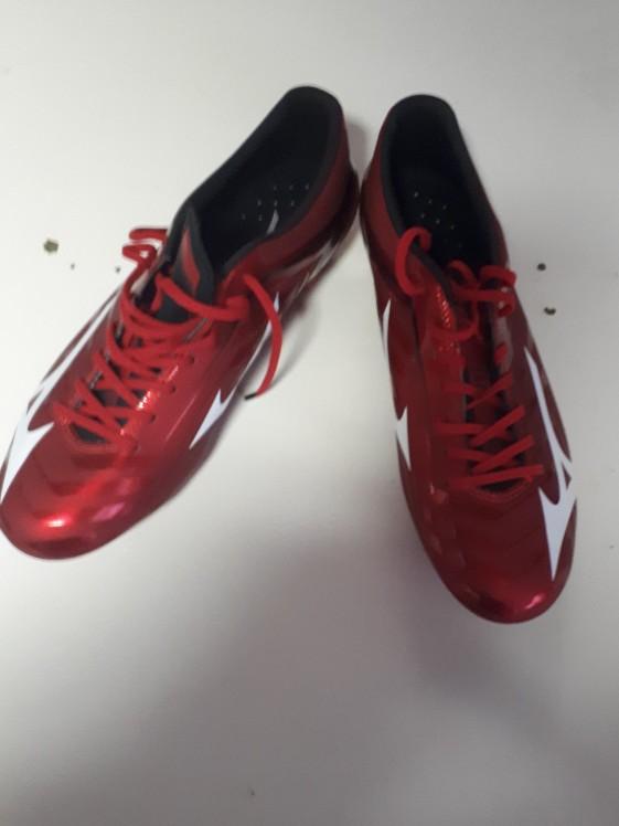 Mizuno voetbalschoen Rood/wit