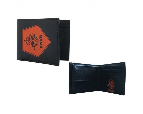 KNVB Portemonnee zwart Oranje