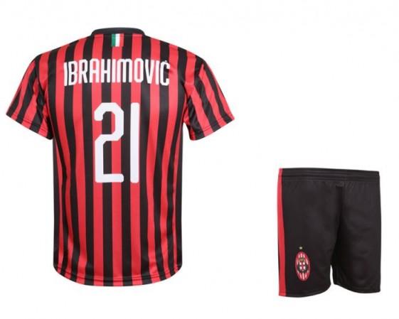 Ac milan voetbal setje Ibrahimovic 2020-21