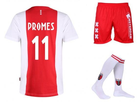 Tenue Ajax Logo Promes Katoen Kids - Senior