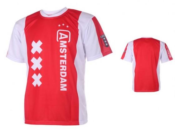 Amsterdam Baby shirt met naam en nummer 2017-18