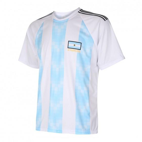 Argentinie Fan shirt met eigen naam 2018-20