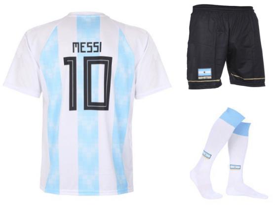 Argentinie Messi tenue 2018-20