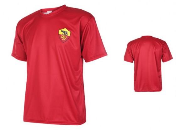 Roma Fan thuis shirt met eigen naam-2017-18