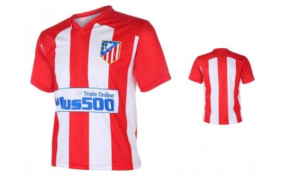 Atletic Madrid Fan shirt met eigen naam 2016-17