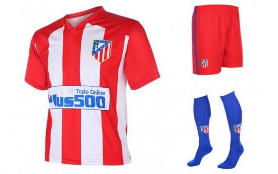 Atletico Madrid Fan tenue met eigen naam 2016-17