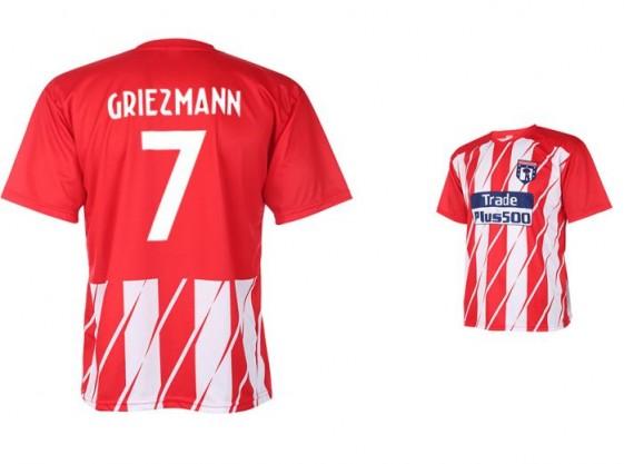 Atletico madrid Fan shirt Griezmann 2017-18