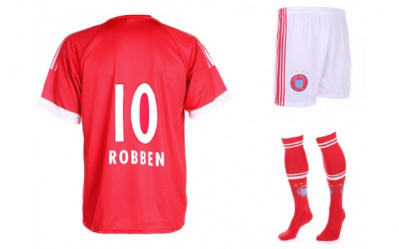 Bayern munchen Fan tenue Robben 2016-17