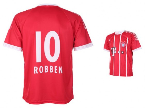 MÜNCHEN Robben thuisshirt 2017-18