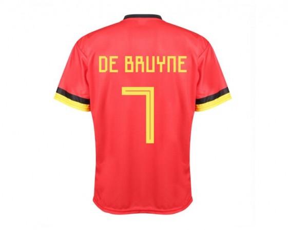 Belgie voetbalshirt thuis De Bruyne 2020-21 Kids-Senior