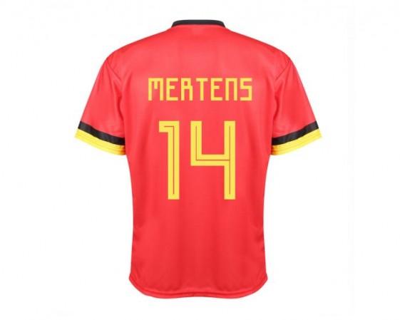 Belgie Voetbalshirt thuis MERTENS 2020-21 Kids-Senior