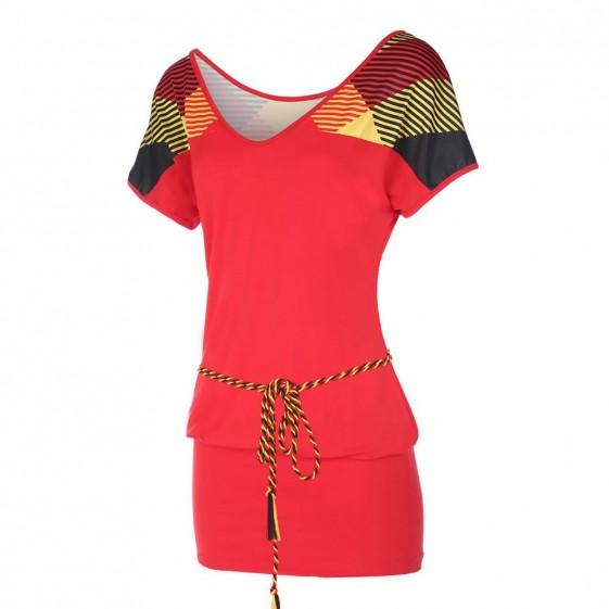 Belgie  Dames jurkje -Dress Rood