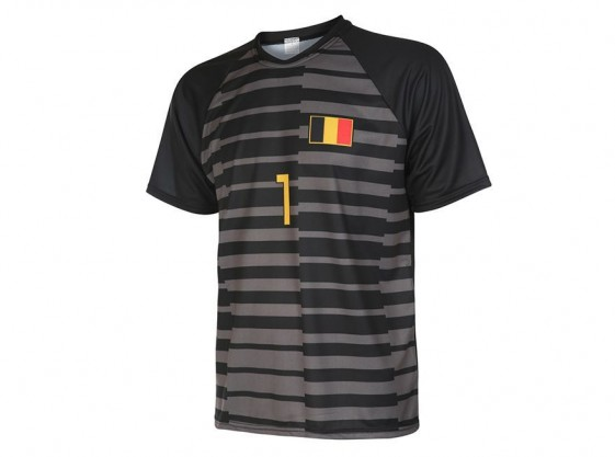 Belgie keepersshirt Courtois 2018-20