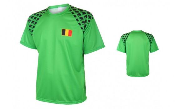 Belgie Keeperssirt met naam en nummer WK 2016-18