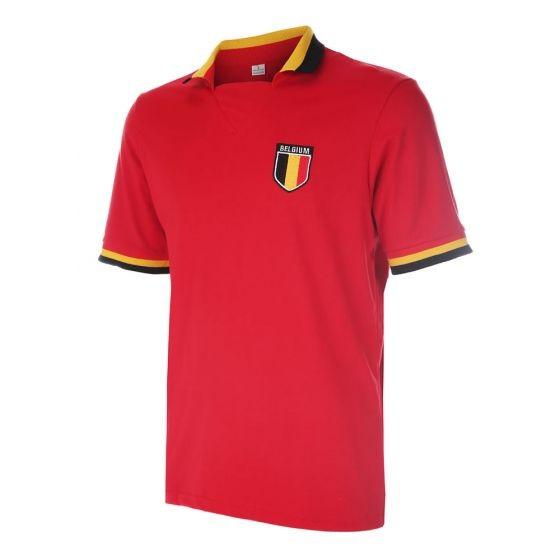 Belgie polo shirt met eigen naam 2018-20