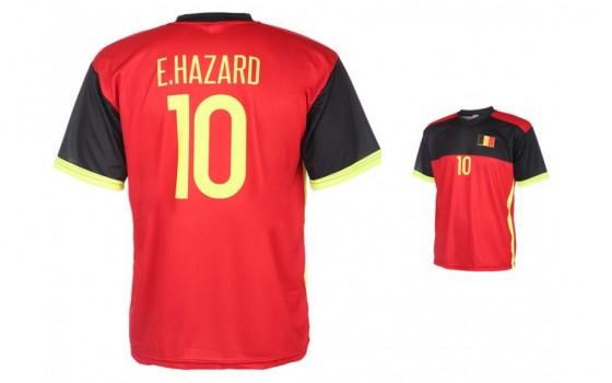 Belgie-Hazard thuis shirt 2016-18