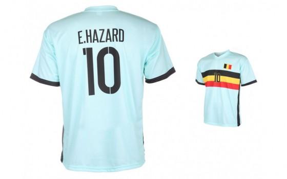 Belgie uitshirt Hazard 2016 -18