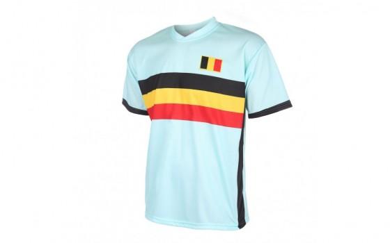 Belgie uitshirt met naam en nummer 2016-18