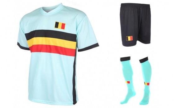 Belgie uit tenue met naam en nummer 2016-18