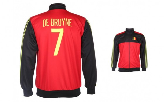 Belgie trainingsjack de Bruyne 2018 - 20