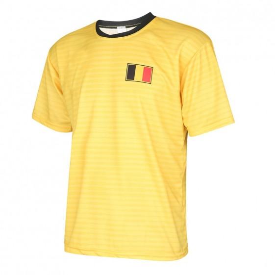 Belgie uit shirt met eigen naam 2018-20