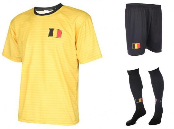 Belgie uit tenue met eigen naam 2018-20