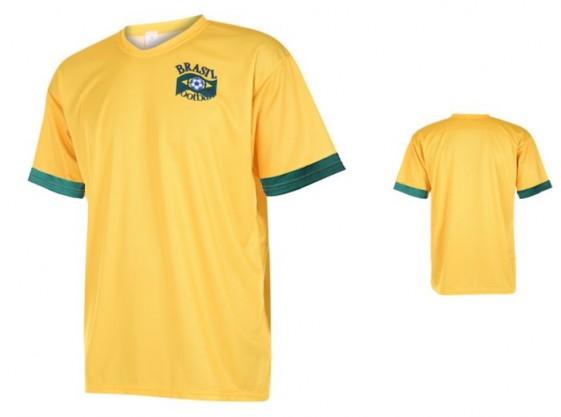 Brazilie shirt met eigen naam 2020-21