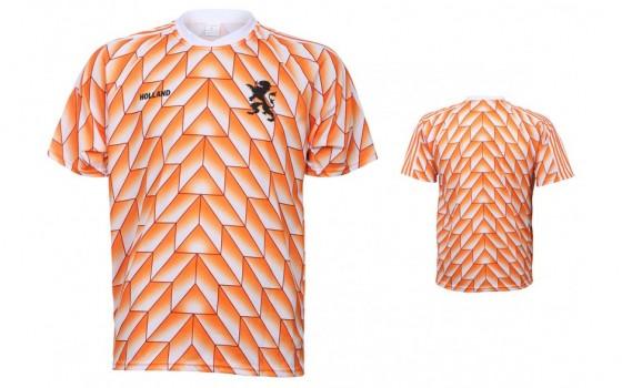 Nederland Ek88 shirt met eigen naam en nummer(super kwaliteit)