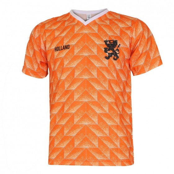 Nederlands elftal EK88 voetbaltenue met naam en nummer 1988 (super kwaliteit)
