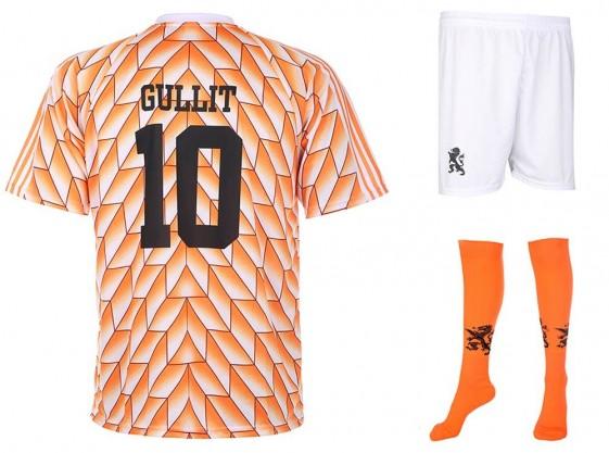 Nederland EK88 tenue Gullit 1988(super kwaliteit