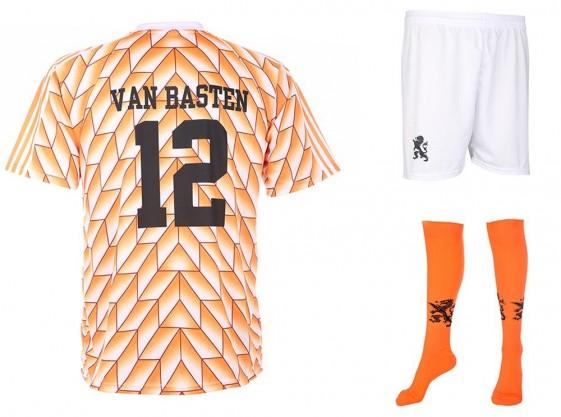 Nederland EK88 tenue van Basten 1988(super kwaliteit)