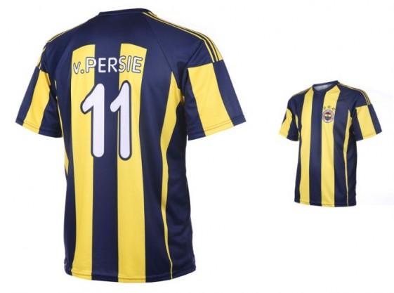 Fenerbahce thuis shirt van Persie 2015-16