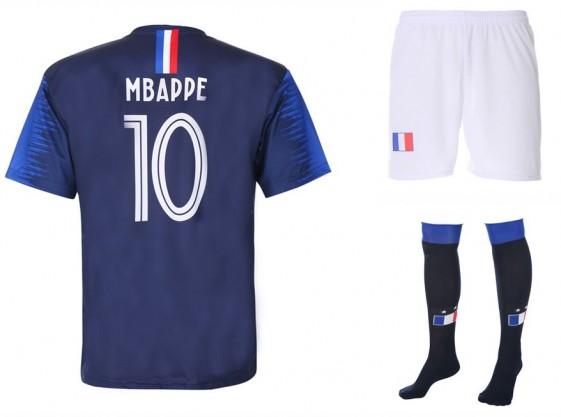Frankrijk  Mbappe thuis tenue 2018 -20
