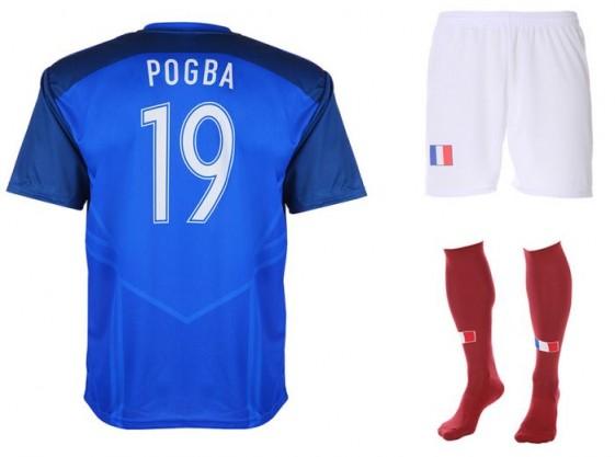 Frankrijk-Pogba tenue 2016-18