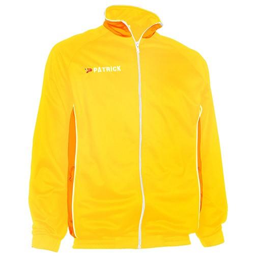 Patrick polyester geel jack Girona