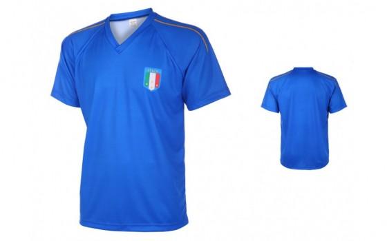 Italie thuis shirt met eigen naam en nummer 2016-19