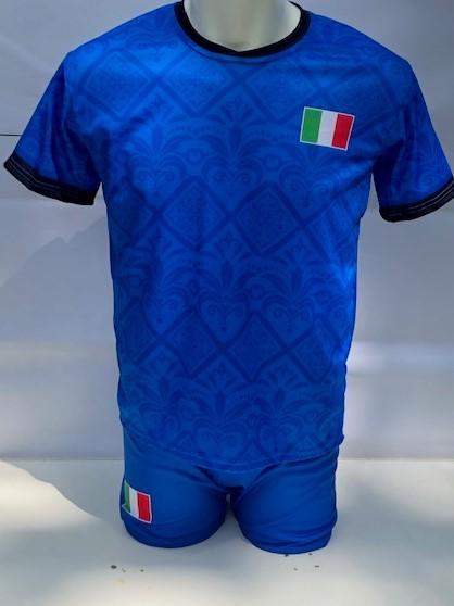 Italie voetbalshirt EK 2021-2022 met eigen naam