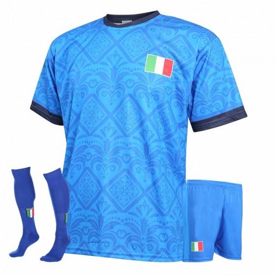 Italie voetbaltenue met eigen naam 2021-22