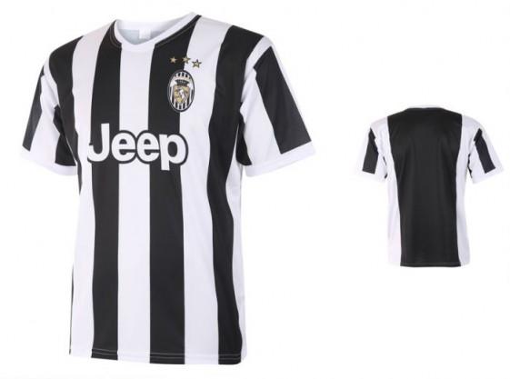 Juventus Fanshirt met naam en nummer 2017-18