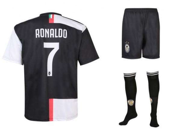 Juventus voetbaltenue Ronaldo 2019-20