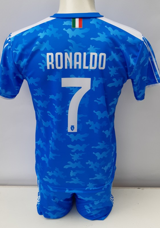 juventus 3e voetbal tenue Ronaldo 2019-20