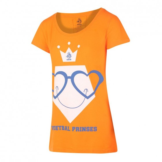 KNVB T-shirt Dames Voetbal Prinses 2019-20