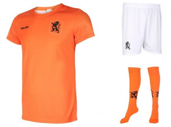 Nederlands elftal Dames tenue Groenen
