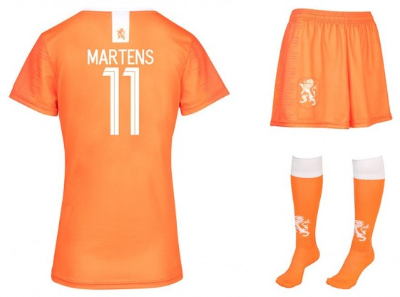 Nederlands elftal Dames Tenue Martens 2019-21