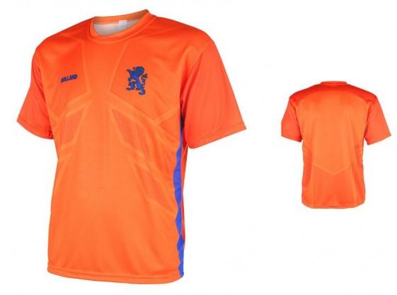 Nederlands elftal thuisshirt van Dijk 2016- 18