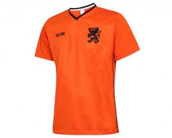 Nederlands elftal thuisshirt met eigen naam 2021-2022