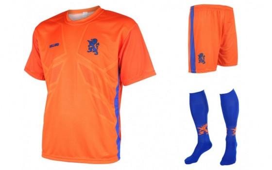 Nederlands elftal thuis tenue 2016-18 met eigen naam en nummer