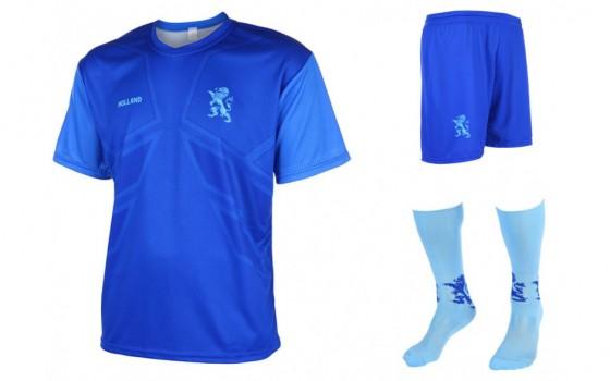 Nederlands elftal uit tenue shirt en broek met eigen naam en nummer 2016-18
