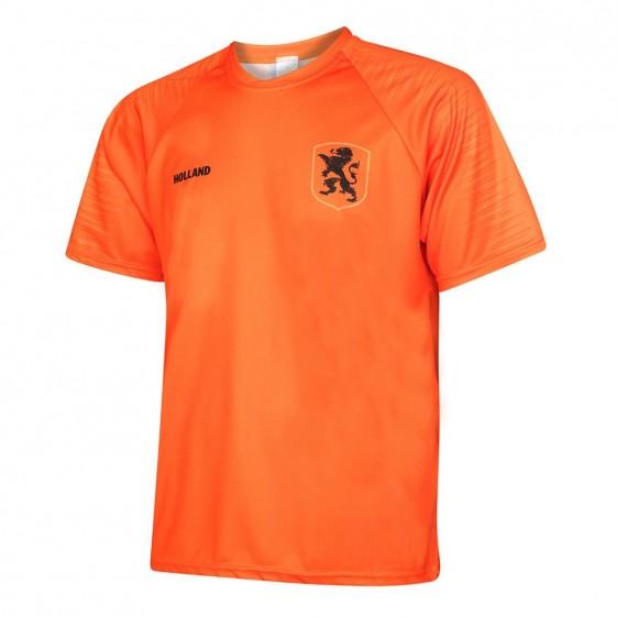 Nederlands elftal thuisshirt met spelersnaam 2019-20 en 2 gratis stickers