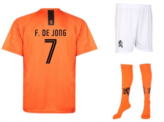 Nederlands elftal tenue De Jong 2018-20